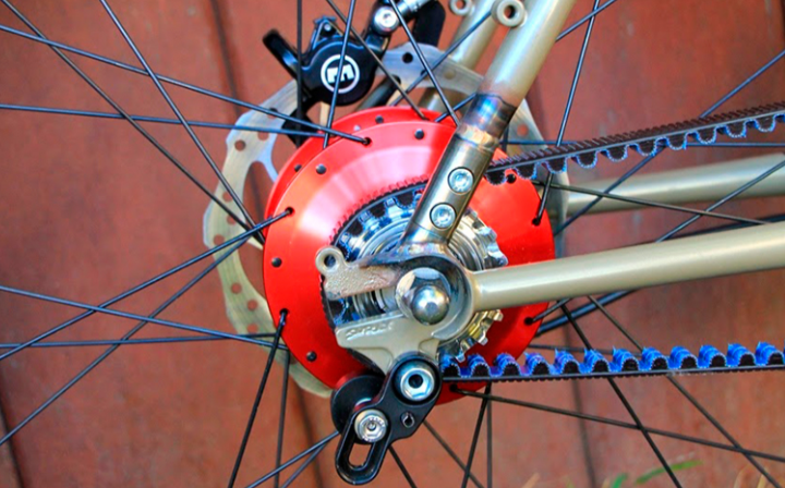 Belt Drive elektrische fiets